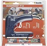KWB Agrafeuse-cloueuse électrique Agrafeuse Tronix TT 14, 5314–00