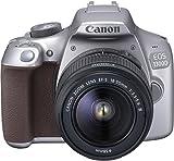 Canon EOS 1300D18-55 III Appareil photo Numérique 18,7 Mpix Zoom optique 10x Wifi Argent