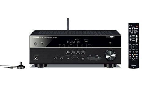 Yamaha ARXV483TI Amplificateur de Home Cinéma pour Smartphone/Tablette Noir/Titane