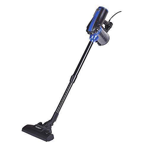 Techwood TAS-658 Aspirateur balai 2 en 1, 600 W, 0.5 liters, Noir/Violet