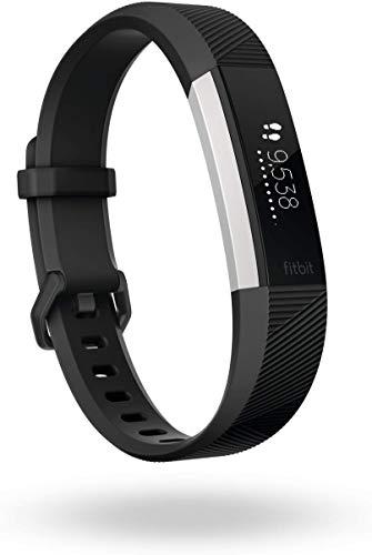 Fitbit - Alta HR - Bracelet d'activité forme au quotidien : jusqu'à 7 jours d'autonomie - Rose (Fuchsia) - Taille: S