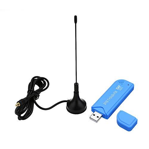 Andoer Mini Portable Numérique USB 2.0 TV Stick DVB-T + Dab + FM RTL2832U Support de Puce SDR Tuner Récepteur