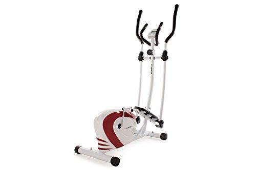 KS Cycling Vélo elliptique Rouge /Blanc