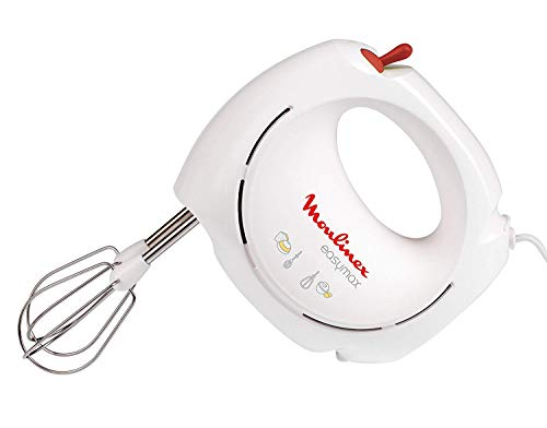 Moulinex ABM11A30 Batteur Easy Max Blanc/rouge