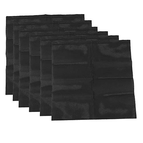 Le point d'armure de tapis de tissu de point pratique fin non déformé fonctionne à la main(022 models 6 sheets)