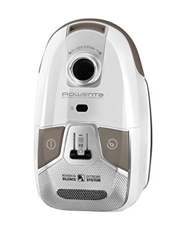 Rowenta 4A Silence Force Compact Aspirateuravec Sac Capacité 3,5L 750W Blanc RO6327EA, 750 W, 3.5 liters