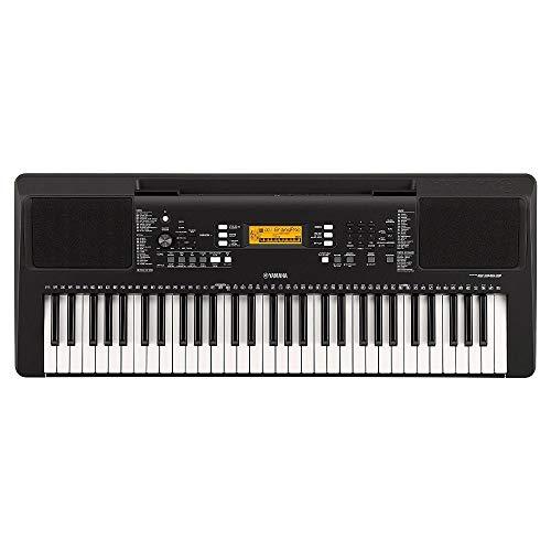 Yamaha PSR-E363 – Clavier électronique avec toucher dynamique – Instrument de musique portable pour débutants exigeants – Noir