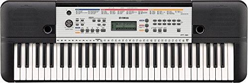 Yamaha YPT-260 clavier avec 61 touches – Idéal pour débuter – Clavier numérique avec de nombreuses fonctions – Noir