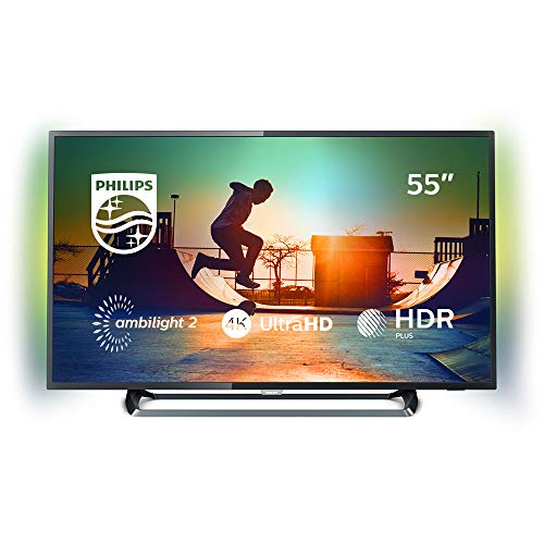 Philips 6000 series Téléviseur LED Smart TV ultra-plat 4K 55PUS6262/12 écran LED - écrans LED (139,7 cm (55'), 3840 x 2160 pixels, 350 cd/m², 16:9, 139 cm, 16 W)