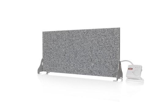 Magma Radiateur infrarouge à intensité réglable via une prise-thermostat Granit gris-blanc 400W
