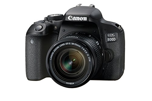 Canon EOS 800D Reflex numérique + EFS 1855mm F/45.6 IS STM Noir