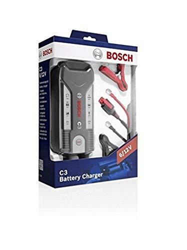 Bosch C3 Chargeur de Batterie Automatique 6-12 V / 3.8 A