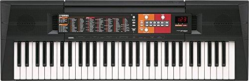 Yamaha PSR-F51 – Clavier électronique avec 61 touches – Instrument de musique portable – Simple à utiliser – Idéal pour débutants – Noir