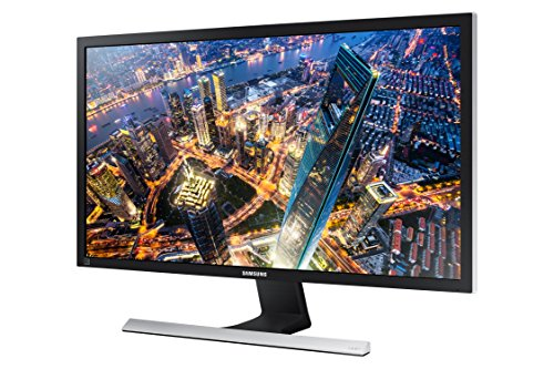 Samsung U28E570DS 28' Écran plat Ultra HD, Métallique (370 CD / M², 3840 x 2160 pixels, 1 MS, DEL, 4K Ultra HD), Noir