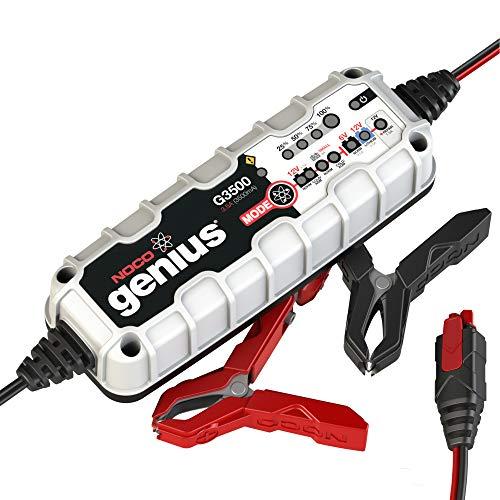 NOCO Genius G3500EU 12V/ 24V 3,5 Ampères Chargeur de Batterie Intelligent et Mainteneur pour Voiture et Moto