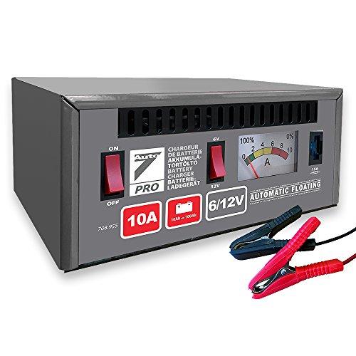 Auto7 708955 chargeur de batterie automatique 10A 6-12V
