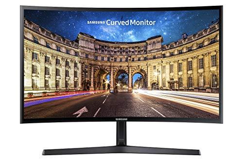 Samsung - C24F396 - Ecran PC Incurvé - Dalle VA - 24 Pouces - (1920 x 1080 , 4(GTG), 16:9, 1 port HDMI) - Noir Brillant