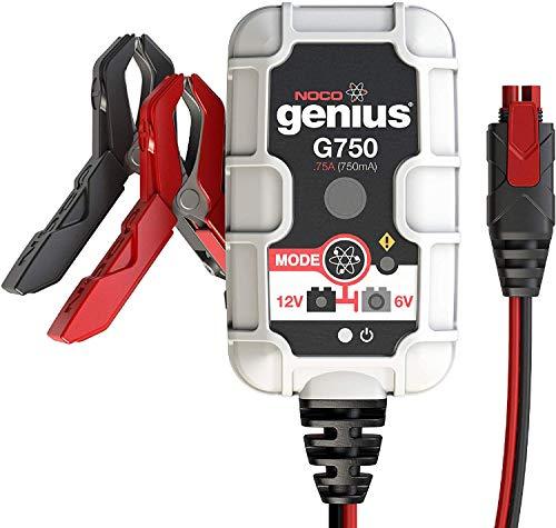NOCO Genius G750EU 6V/12V,75 Ampères Chargeur de Batterie Intelligent et Mainteneur pour Voiture et Moto