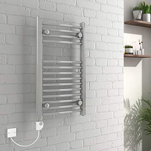 Vienna - Sèche-serviette électriques chromé 700 x 400mm Con Termostato