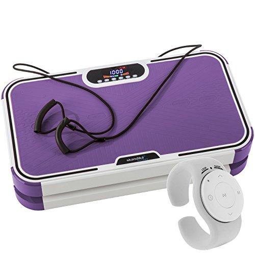 SKANDIKA skandika Vibration Plate 800 (Violet) Plate-Forme vibrante oscillante Design Violet