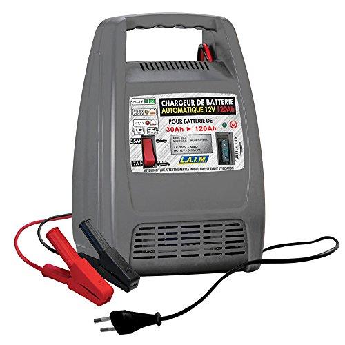 L.A.I.M. 693 Chargeur de Batterie Automatique 12V 693 Ah-10 Amp
